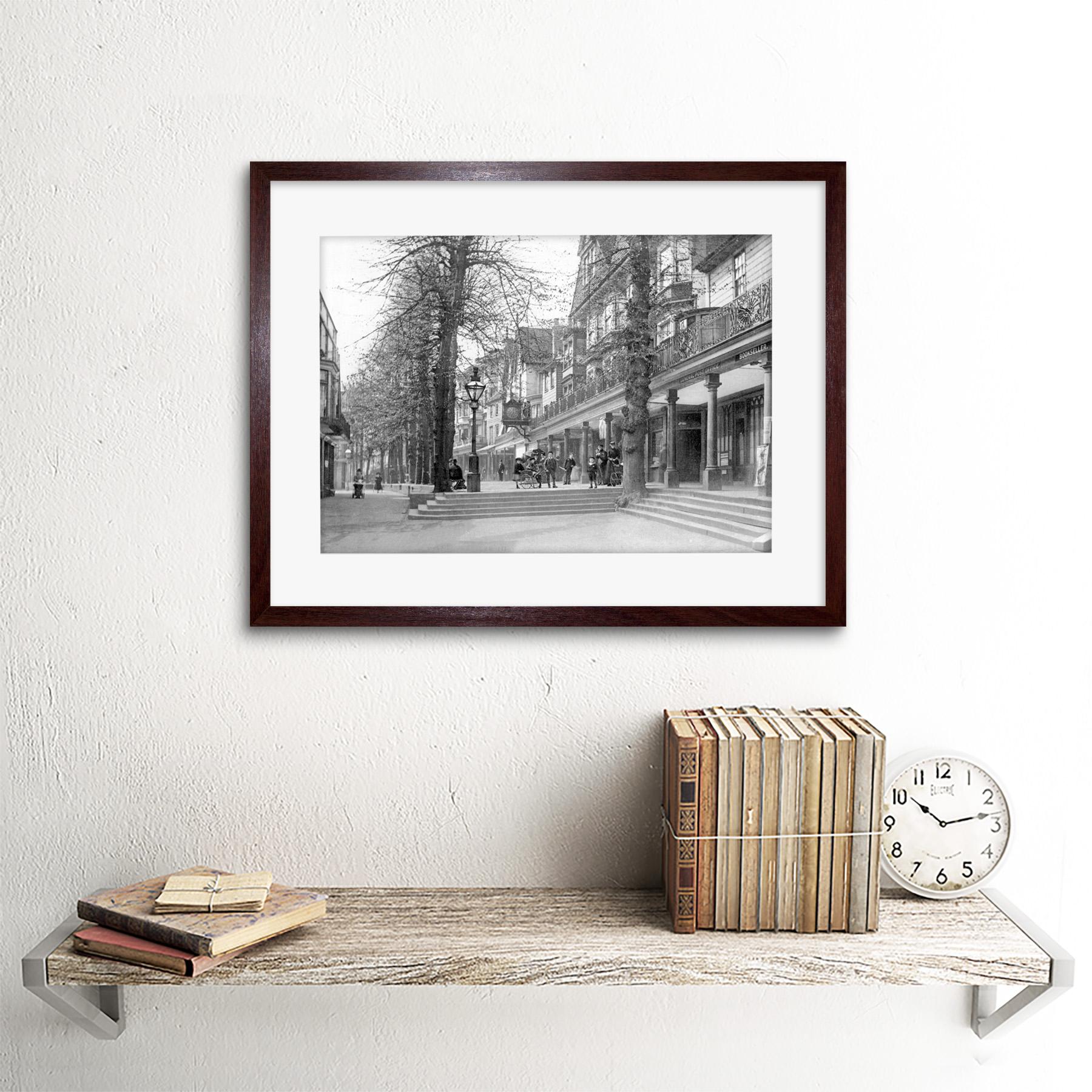 Vintage Foto Tunbridge Wells cobijas Inglaterra enmarcado impresión 12x16 pulgadas