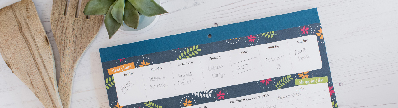 Magnetic Meal Planners