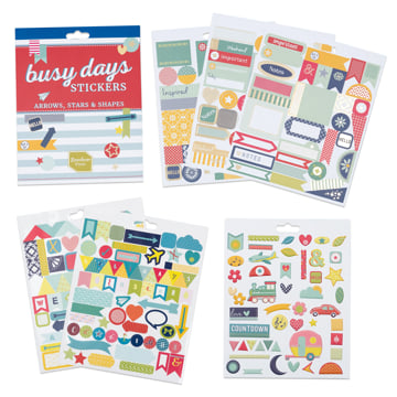 Busy Days Stickers: Arrows & Shapes