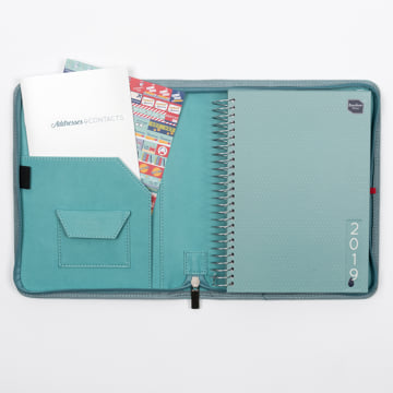 2018-2019 Life Book in Faux Leather Cover