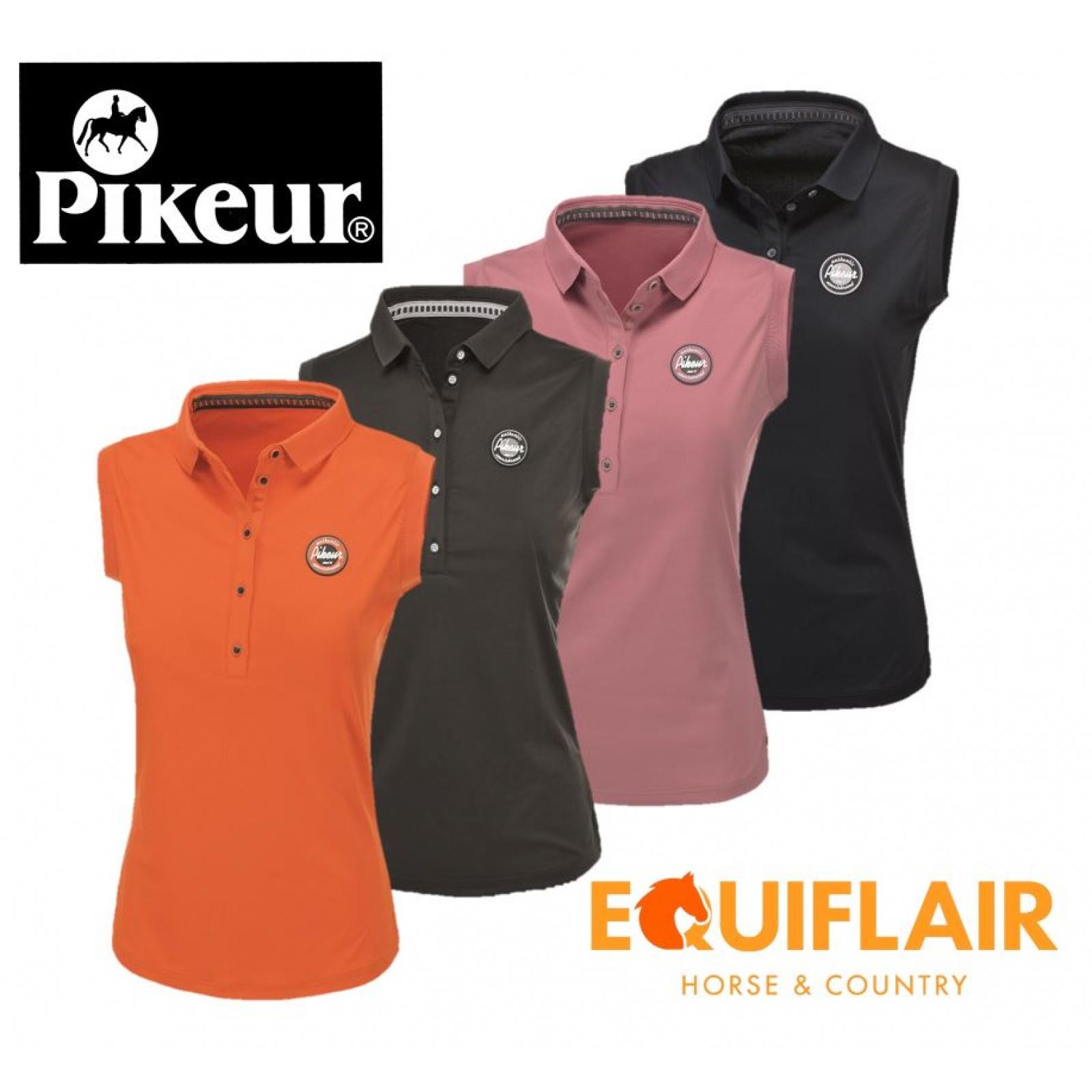 Pikeur Jarla Sleeveless Functional T-Shirt Polo Shirt