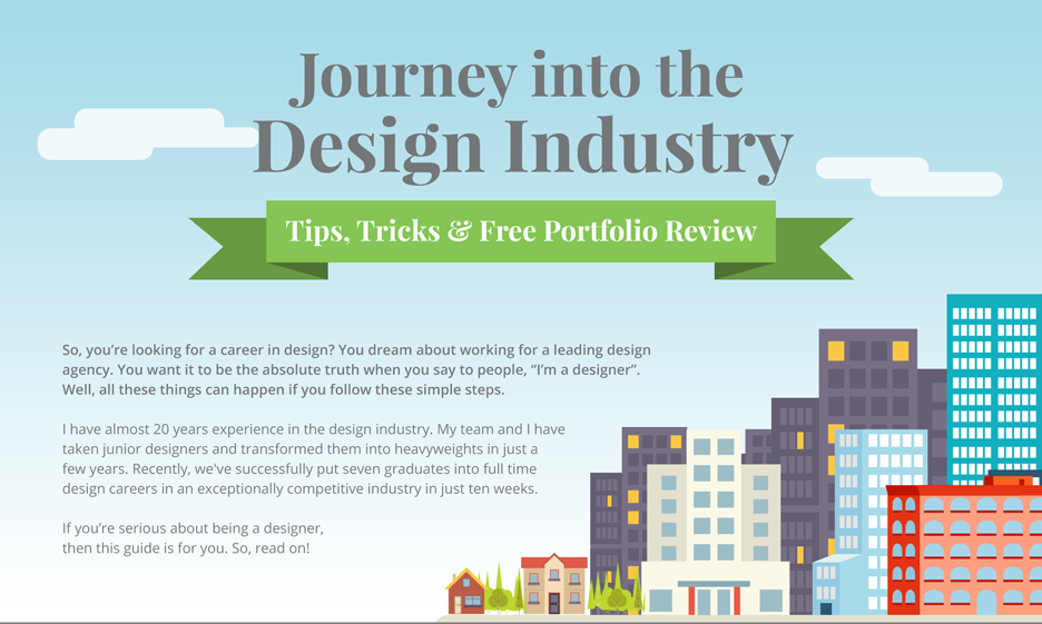 Infographic design career