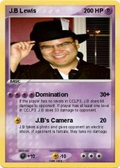 J.B's Pokemon Card