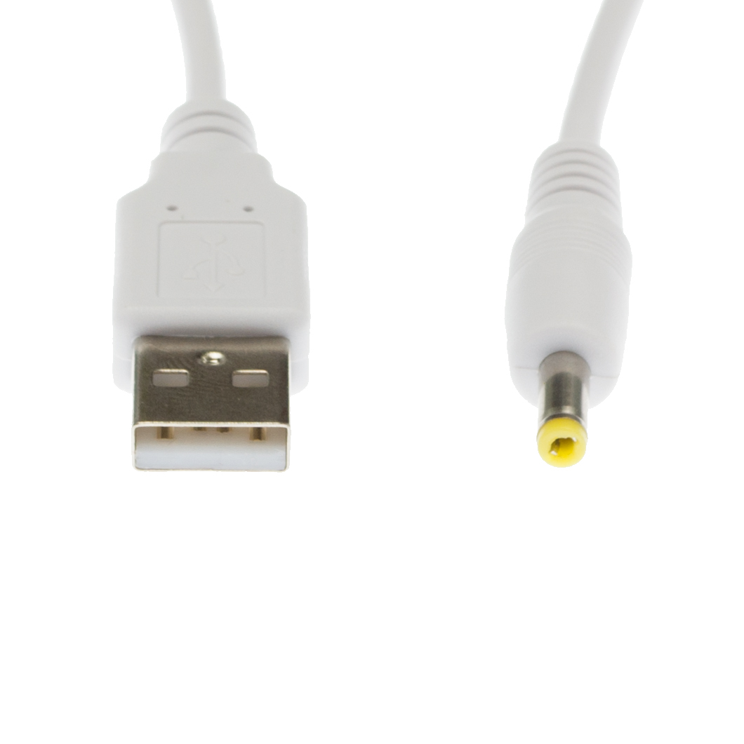 90cm USB White Charger Power Cable for Vtech VM312 Baby Unit Camera Baby Monitor