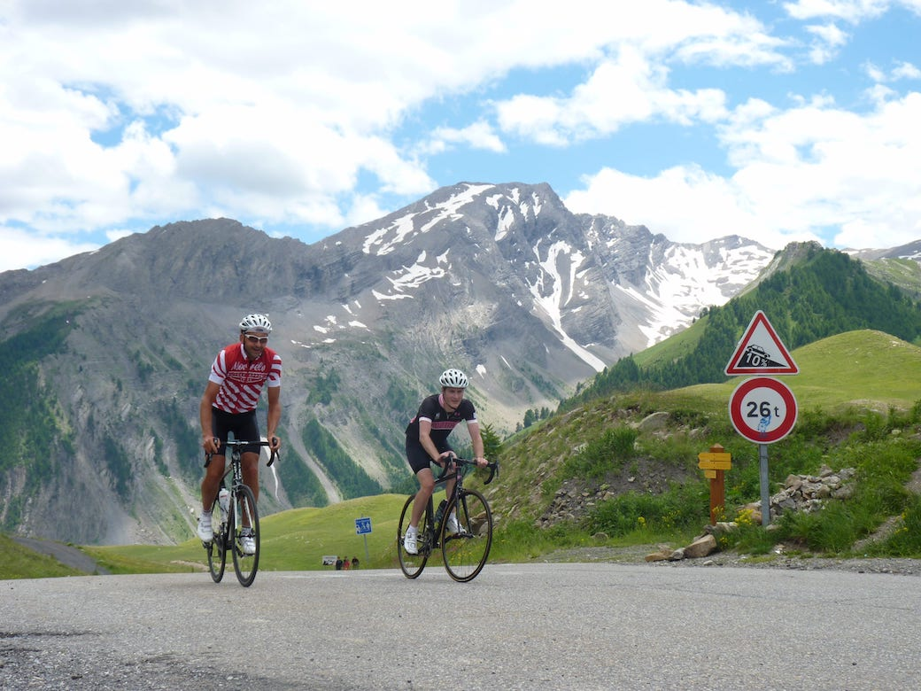 The magnificence of the Col d'Izoard