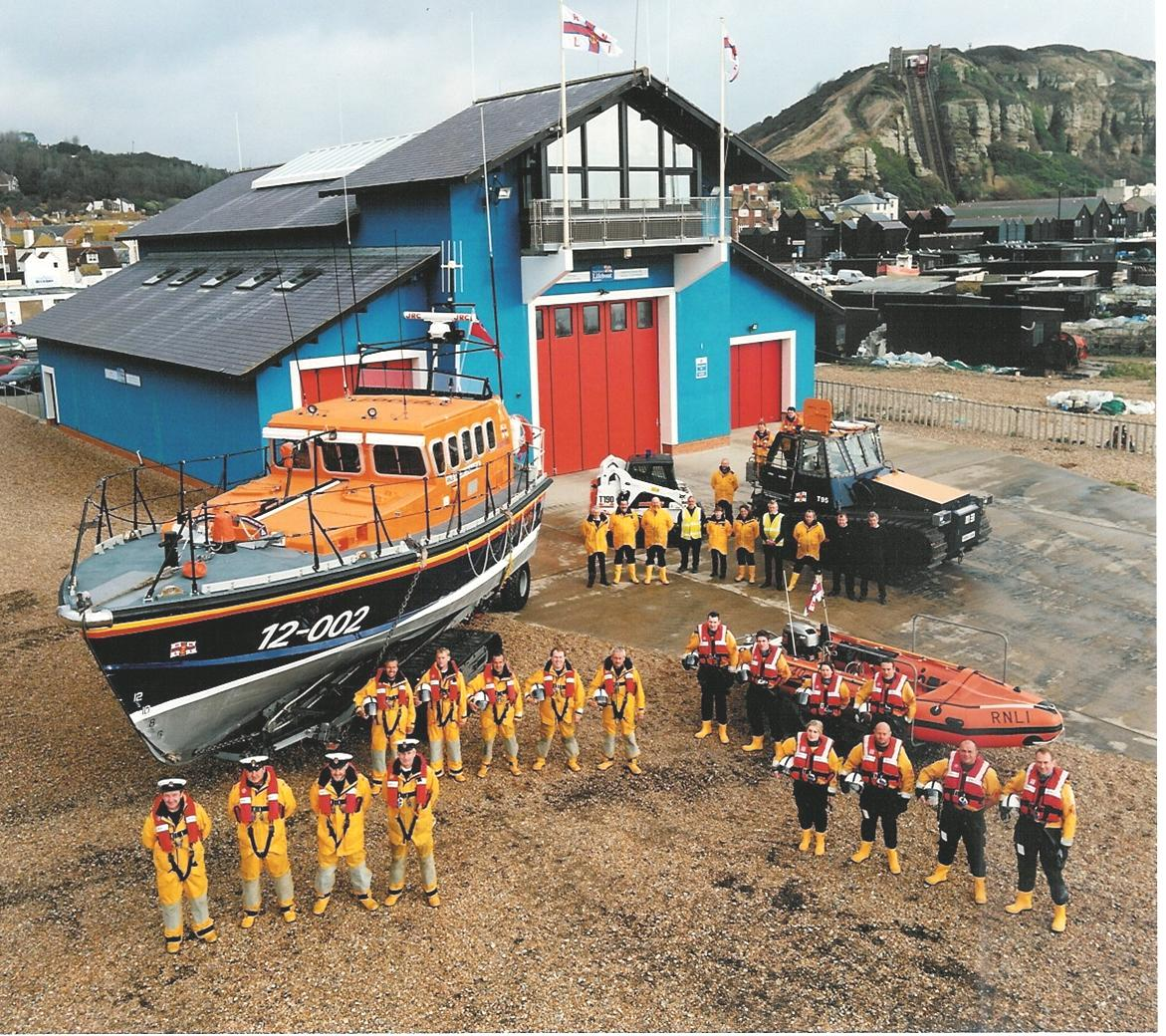 Open Day At Hastings Lifeboat Station 2017 Hastings Old