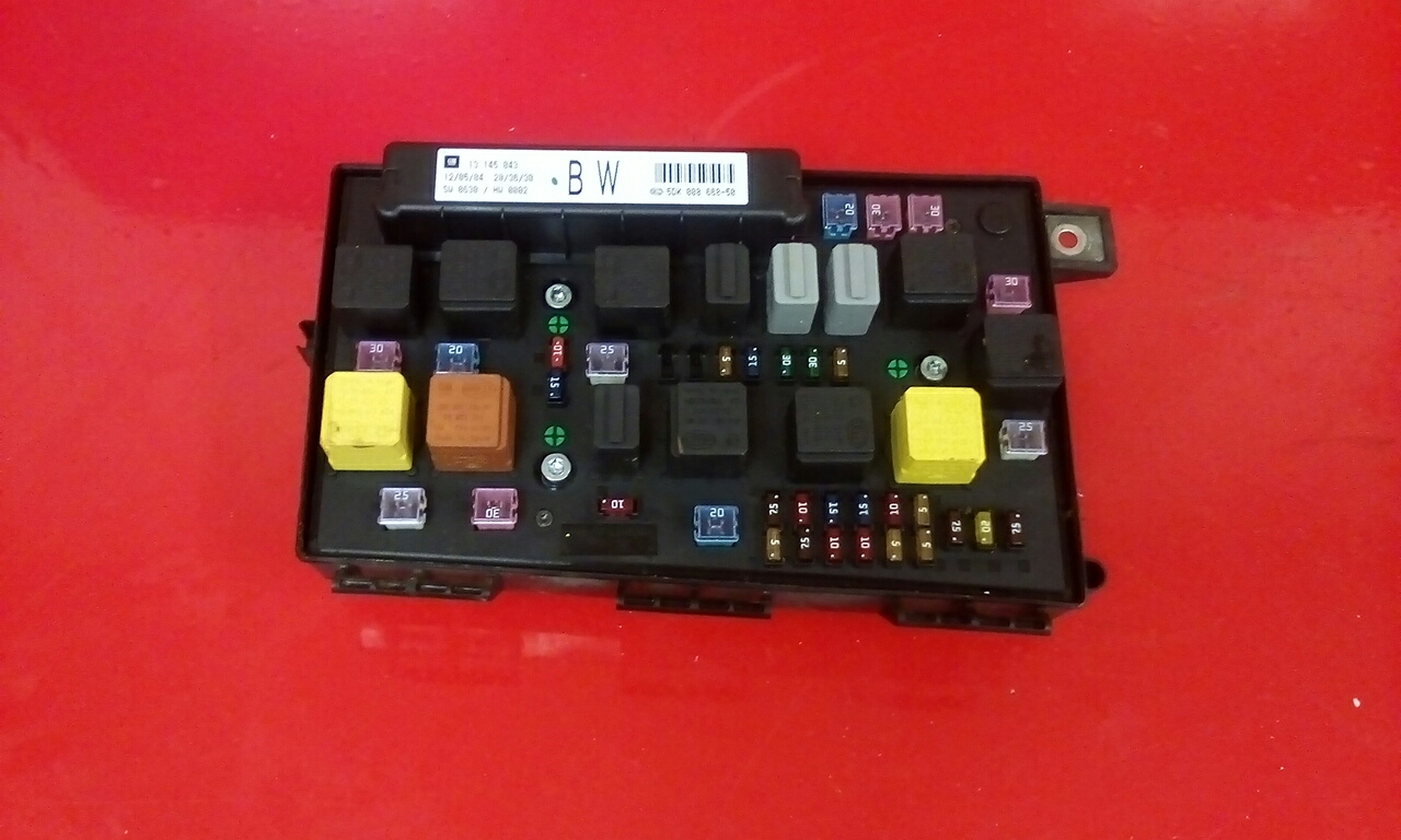 Astra G Fuse Box Diagram