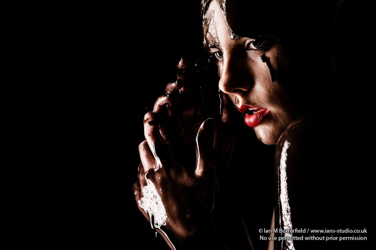Black Slime Portrait