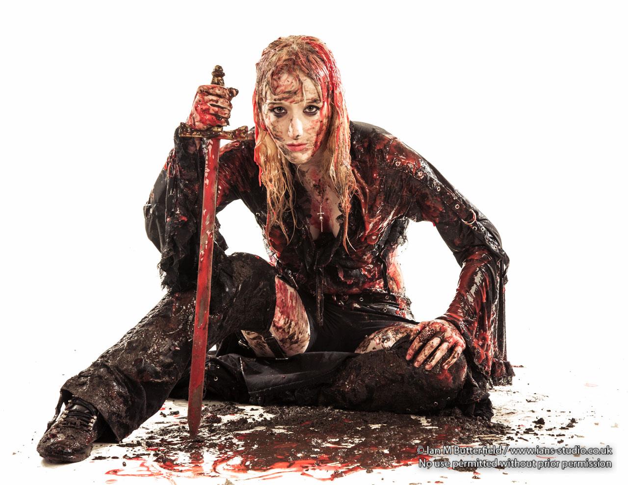 Bloody and Muddy Warrior