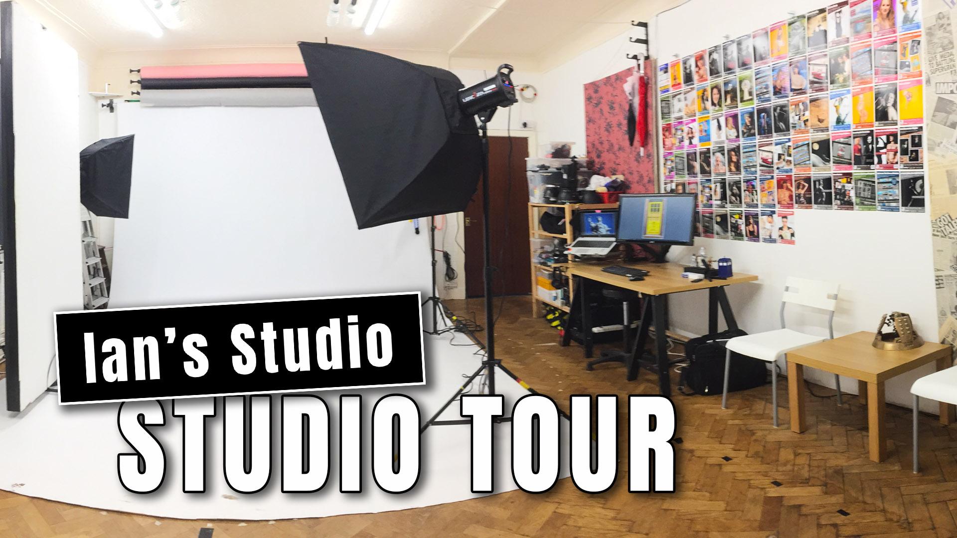 BLOG 3 Aug 2020: Ian's Studio is open… well partially!
