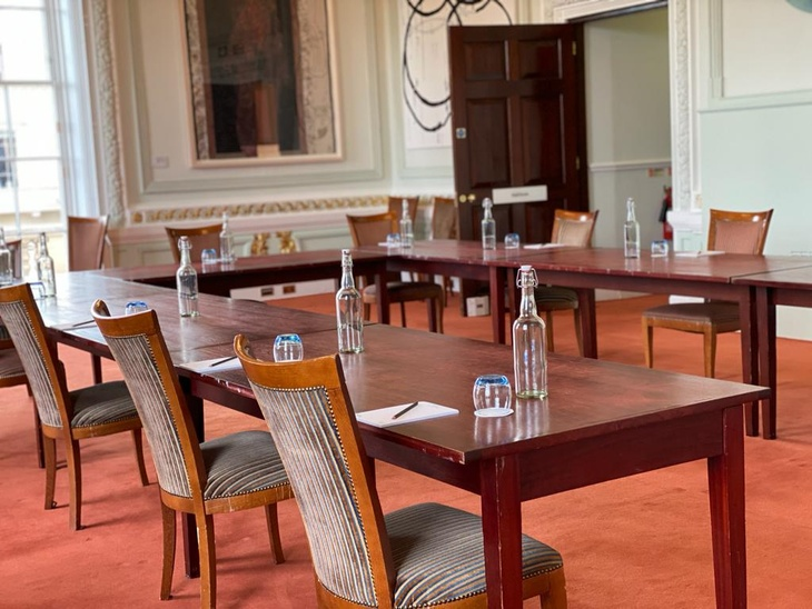 The Council room at Westmister meeting venue 10-11 Carlton House Terrace