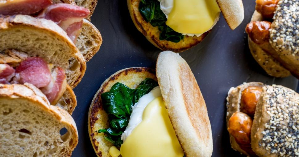Breakfast at 10-11 Carlton House Terrace