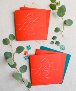 Stationery sets and Christmas cards