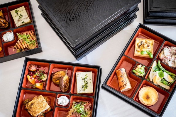 Catering offering from corporate venue in London
