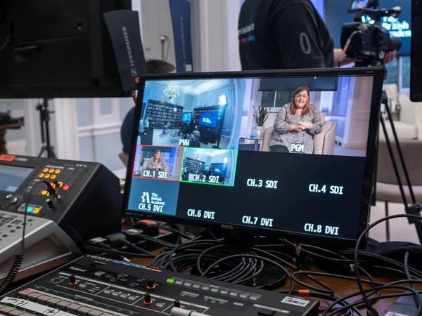Behind the scenes at London hybrid venue to hire 10-11 Carlton House Terrace