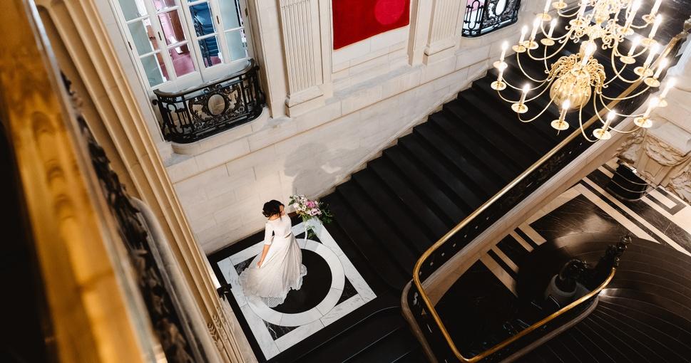 An intimate London wedding venue