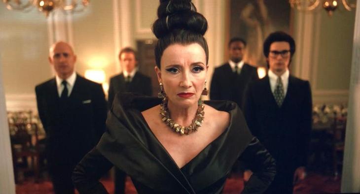Scene from Cruella filmed at 10-11 Carlton House