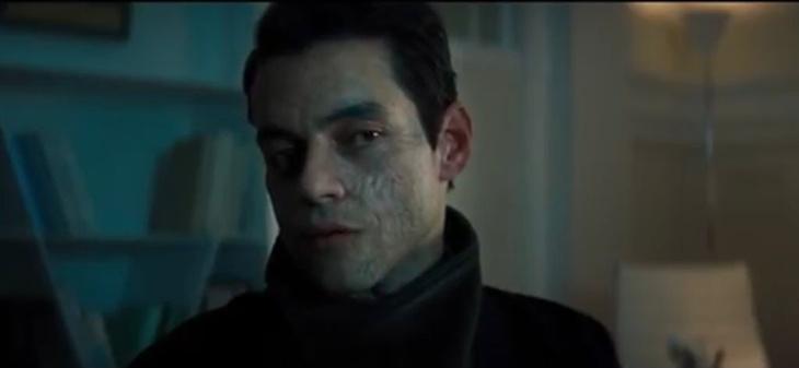 Rami Malek at London filming venue 10-11 Carlton House Terrace