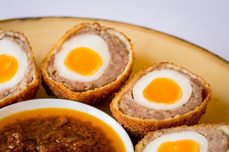 Picnic scotch eggs by London catering company Searcys