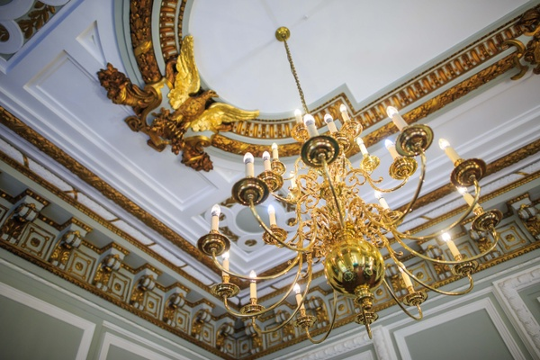 Shot of ceiling at Westminster meeting venue 10-11 Carlton House terrace