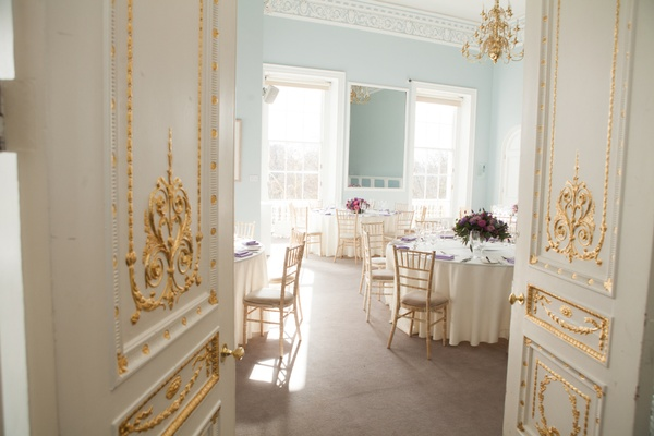 Larger wedding breakfast space up to 100 in the Wolfson