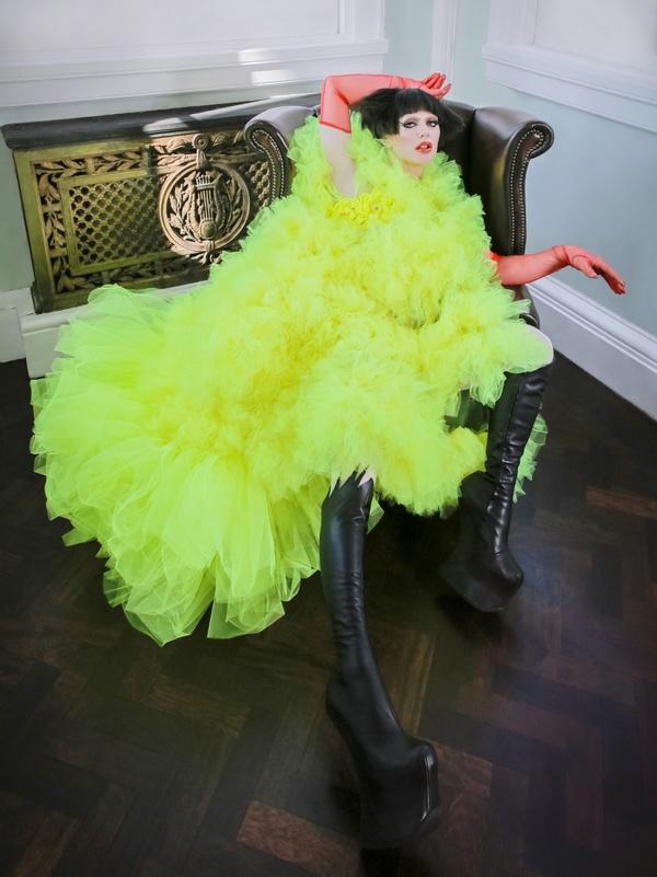 Bimini Bon Boulash shot for SICKY mag at 10-11 Carlton house terrace in London