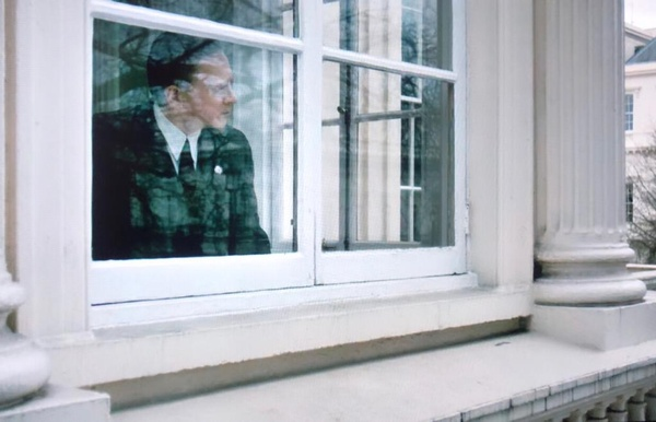 A scene filmed from the exterior of filming venue to hire 10-11 Carlton House Terrace