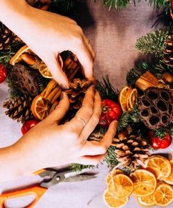 Make your own at home wreath kits