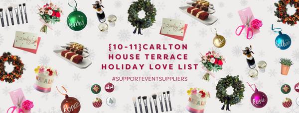 10-11 Carlton House Terrace #SupportEventSuppliers banner