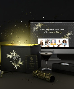 Virtual Christmas party in a  box