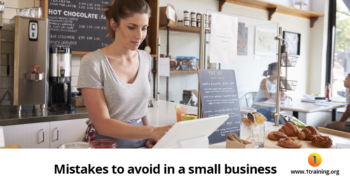 mistakes to avoid in small business