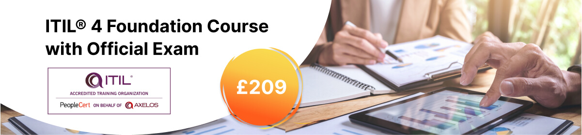 ITIL® 4 Foundation Course with Official Exam