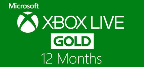 Buy Xbox Live Prepaid 12 Month Gold Membership Card Microsoft Key Instant Delivery Microsoft Cd Key