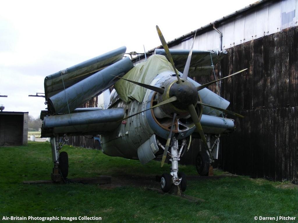 South Yorkshire Aircraft Museum >> Aviation photographs of Fairey Gannet ECM6 : ABPic