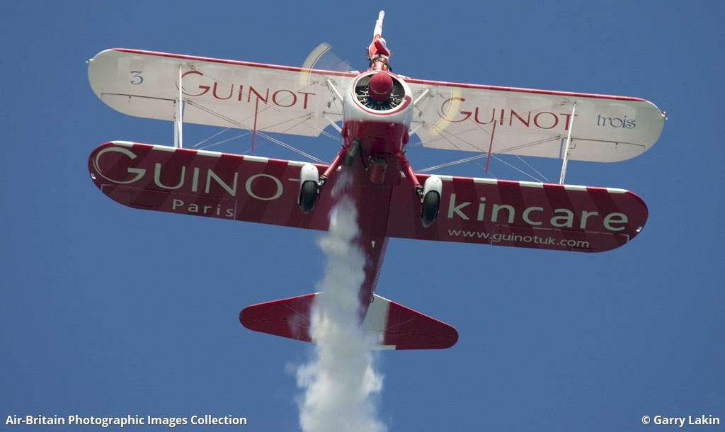Aviation photographs of Boeing Stearman N2S-1 Kaydet : ABPic