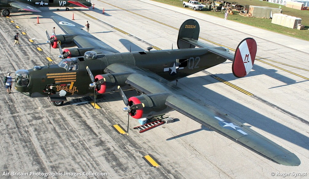 Aviation photographs of Code Number: M 252534 'Witchcraft' (Actually