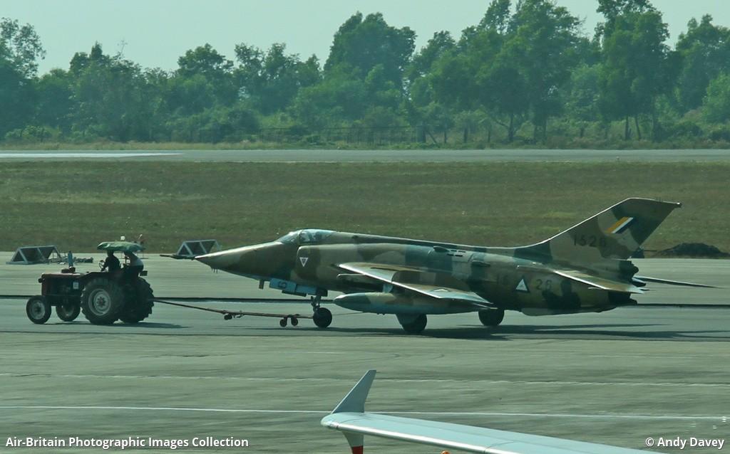 Nanchang A 5C Fantan Myanmar Air Force Nyaung U NYU VBNU Andy Davey