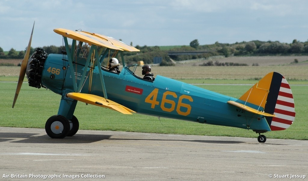 Boeing Stearman PT-13A Kaydet, N731 / 75-045, Private : ABPic