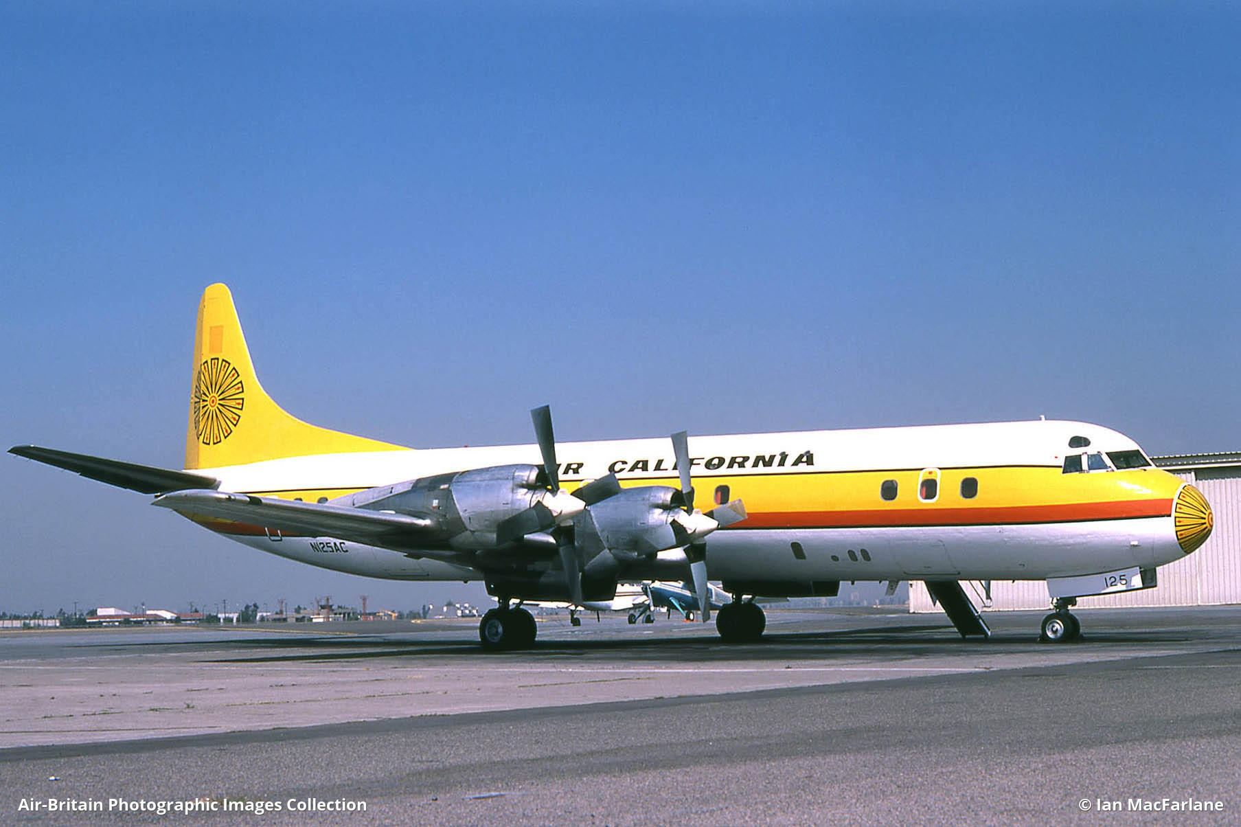 Lockheed L-188 Electra, N125AC / 1006, Air California : ABPic