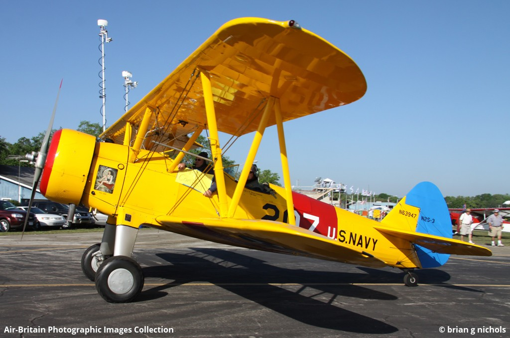 Aviation photographs of Boeing Stearman PT-17 Kaydet : ABPic