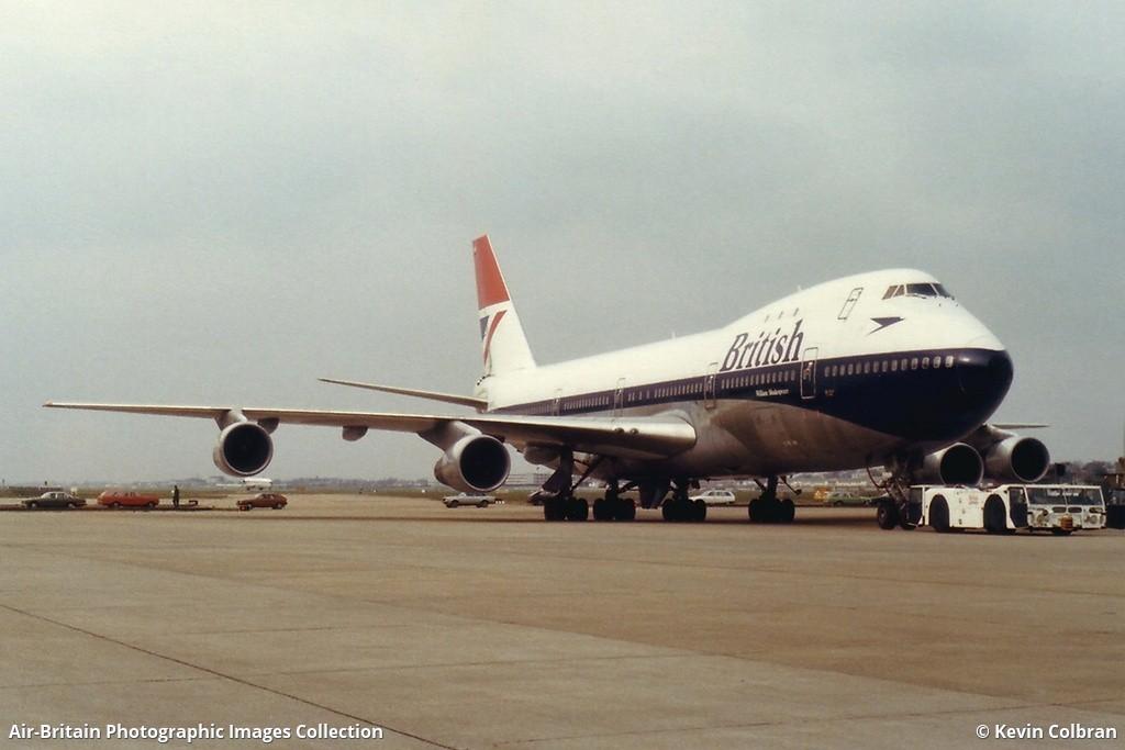 B 747-136   BRITISH AIRWAYS   G-AWNK