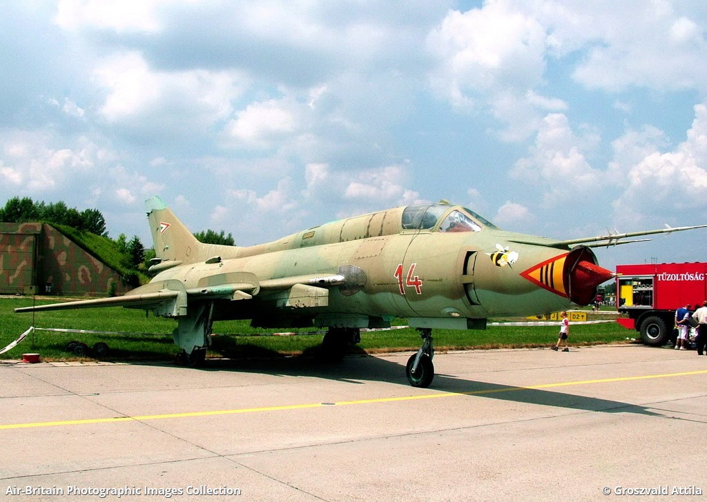 Sukhoi Su-22M-3 Fitter, 14 / 51814, Hungarian Air Force : ABPic