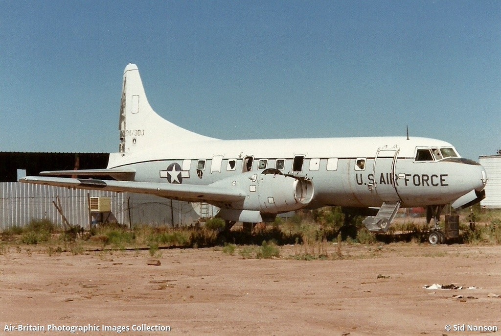 Aviation photographs of Location: Desert Air Parts yard : ABPic