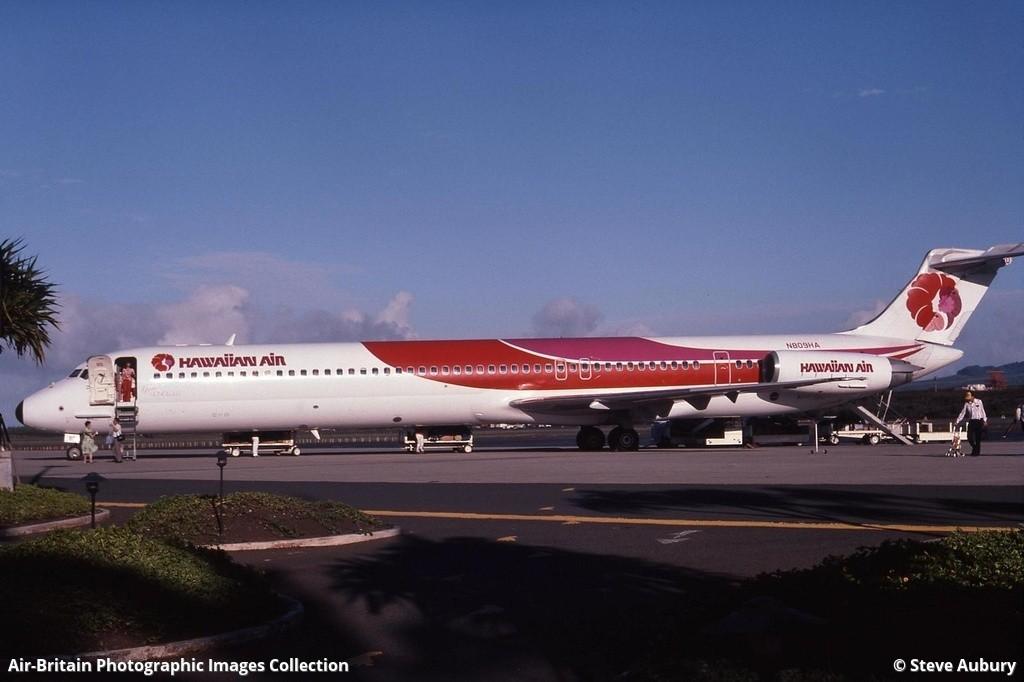 McDonnell Douglas MD-81 (DC-9-81), N809HA / 48044, Hawaiian