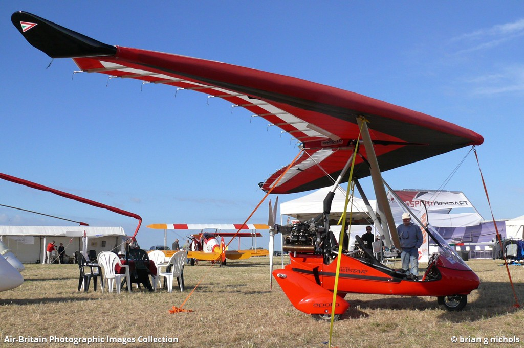 Apollo Ultralight Aircraft Jet Star, 81-IS, Private : ABPic