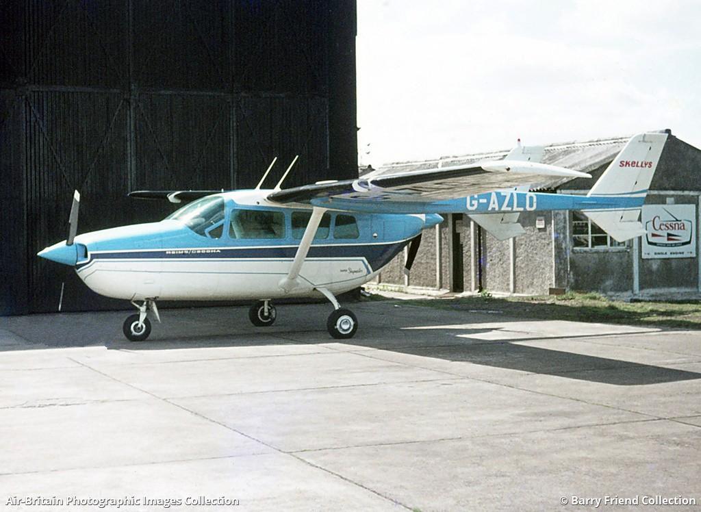 Aviation photographs of Reims-Cessna F337F Super Skymaster