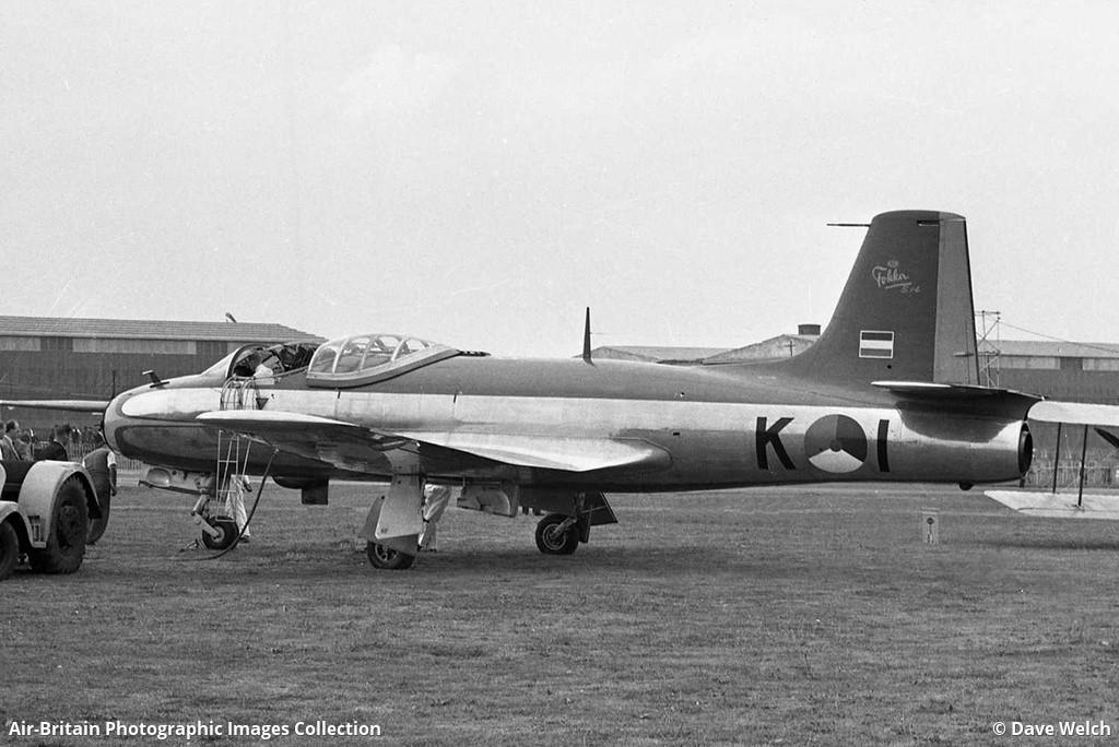 Aviation photographs of Fokker...