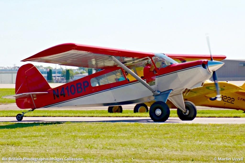 Aviation photographs of R and B Aircraft Bearhawk Patrol : ABPic