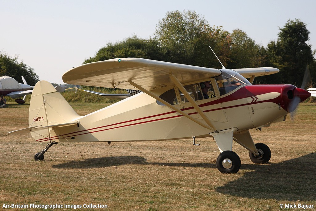 Aviation photographs of Piper PA-22-125 Tri-Pacer : ABPic