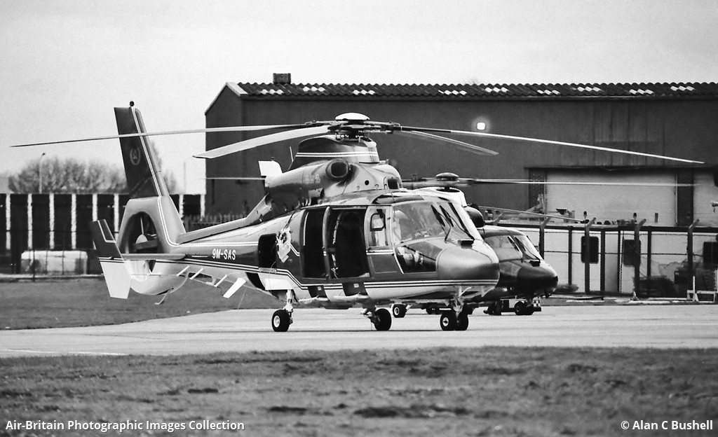 Aerospatiale AS365N2 Dauphin 2 Corporate Hayes Heliport X2HY UK